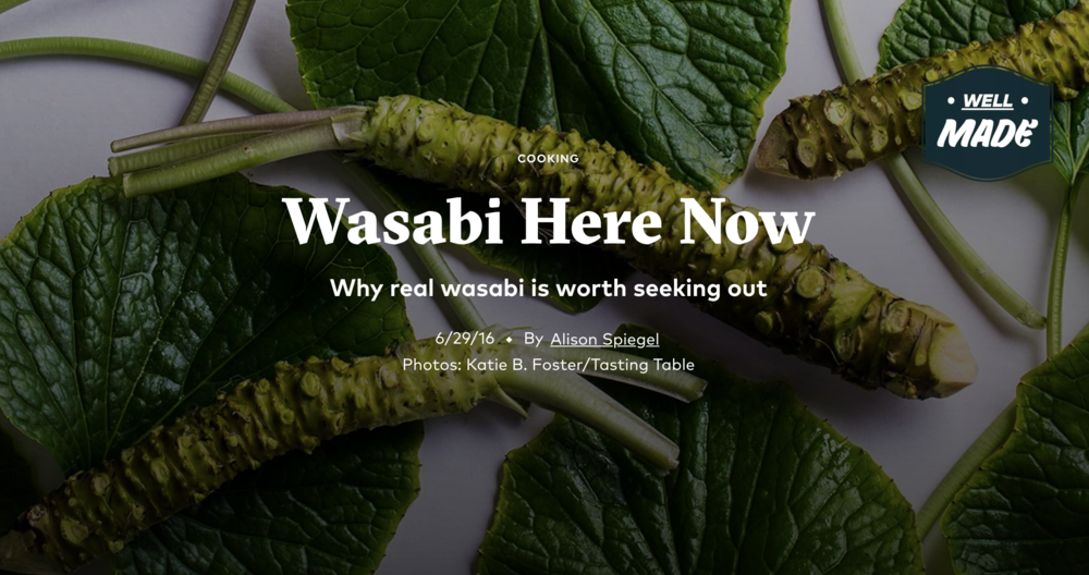 Frog Eyes Farm Grows Some of America's Only Real Wasabi