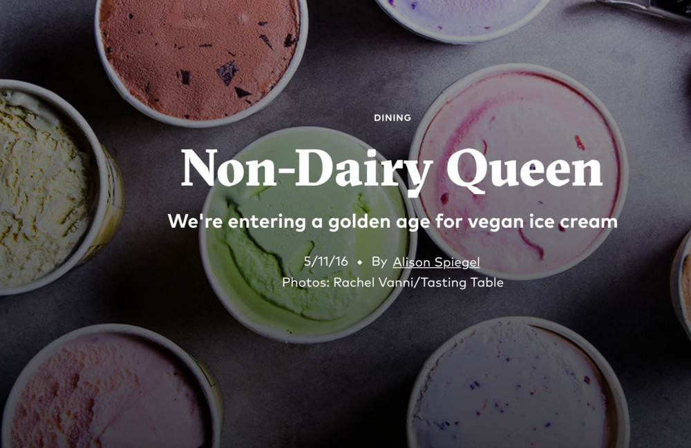 Welcome to the Golden Age for Vegan Ice Cream