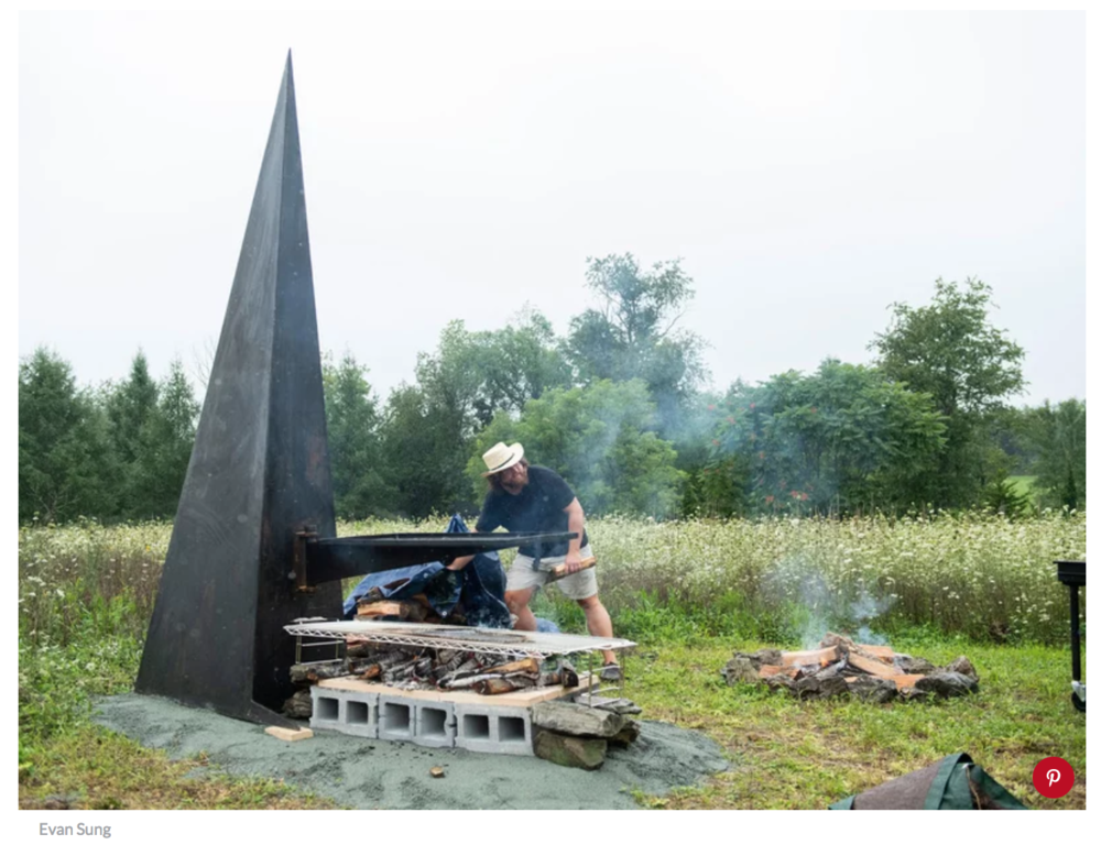 Hudson Valley Artist Builds Incredible Grilling Sculptures