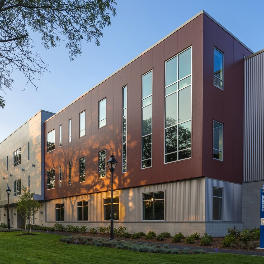 Crowe Hall at Merrimack College  Andover, Massachusetts 49,000 SF new academic building Contractor: PROCON, Inc.