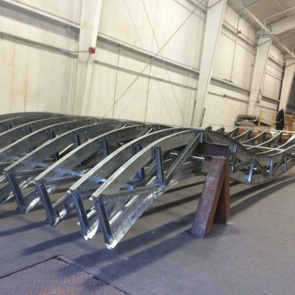 Fairfield Inn  Multiple Locations Custom curved canopy Contractor: ROK Builders