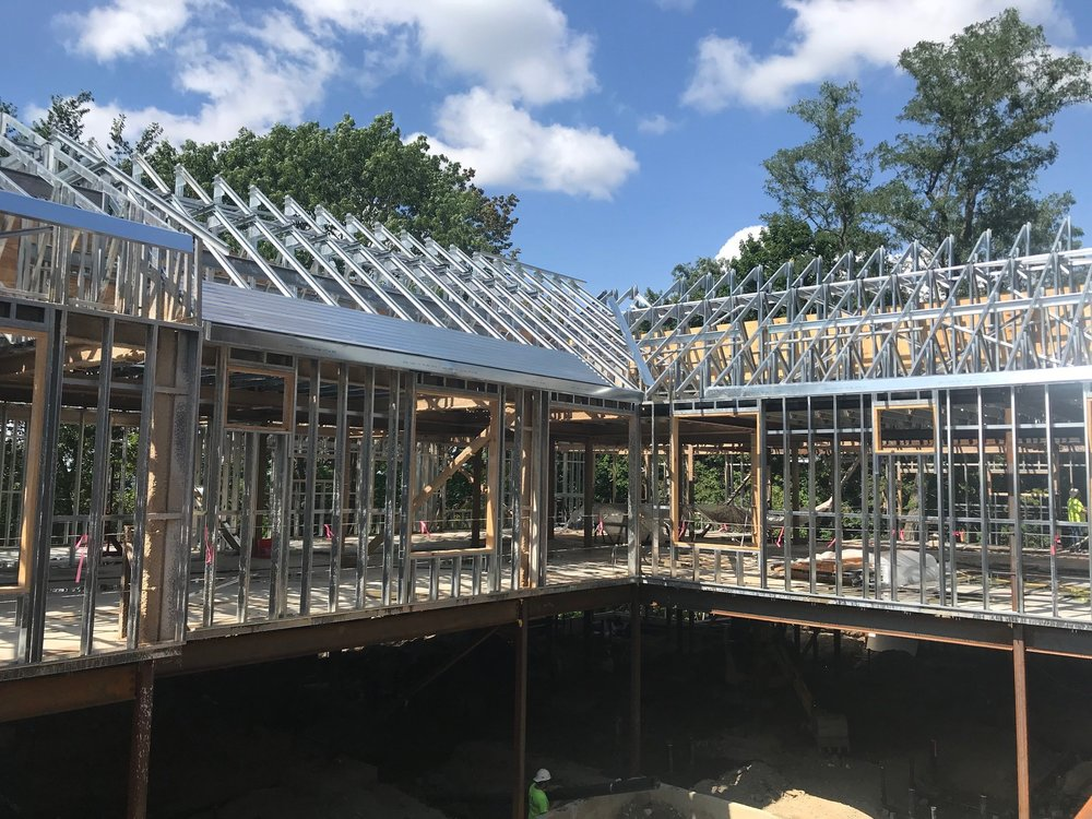 Benchmark Senior Living  Newton Center, MA CFS Roof Trusses & Metal Roof Decking Contractor: Optiline