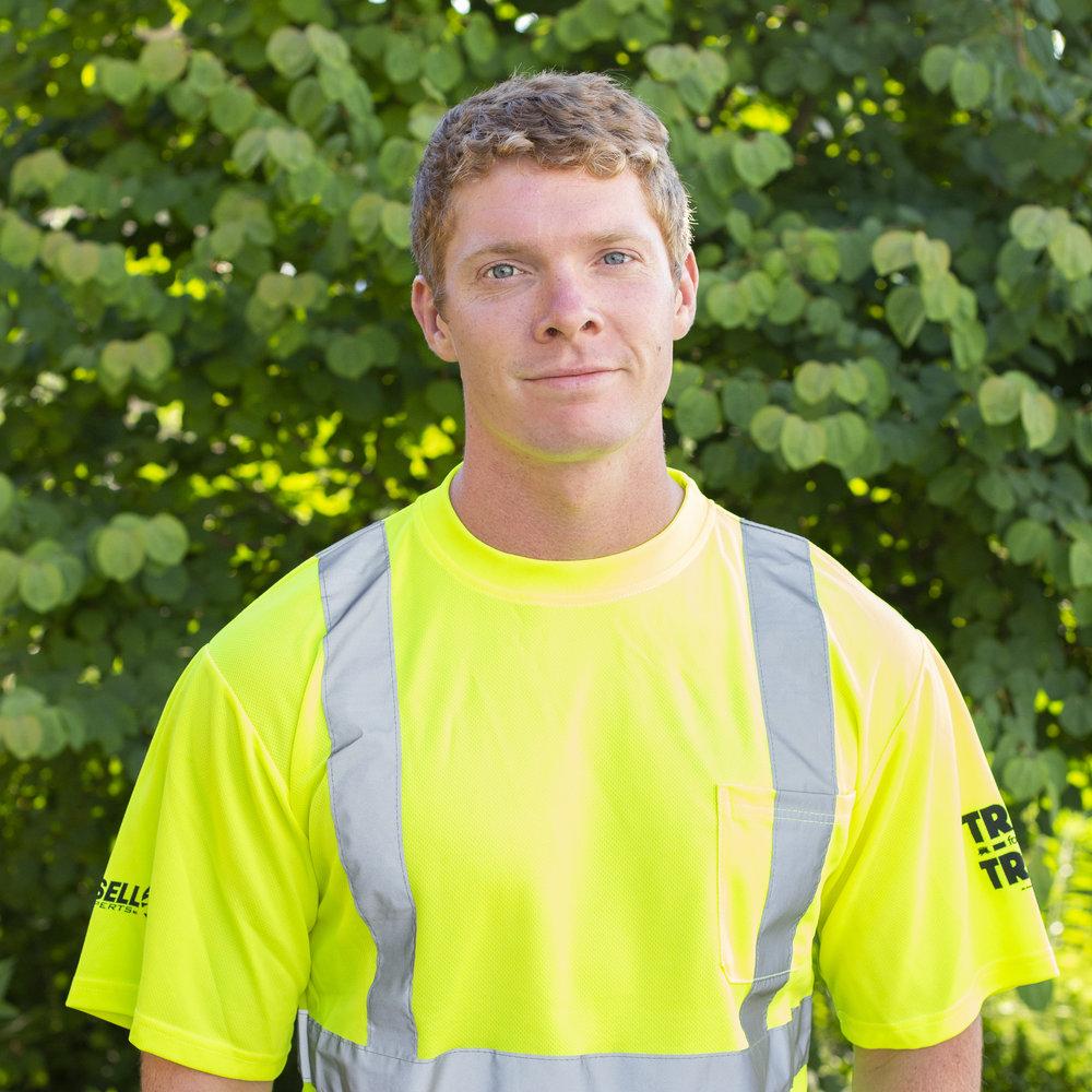 Caleb Duffey - PRODUCTION ARBORIST & CRANE OPERATOR