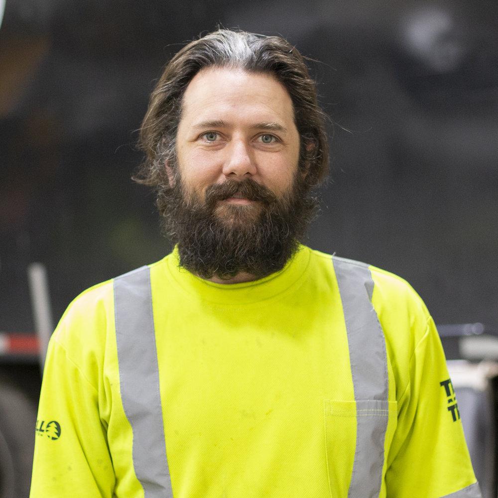 Andy Bartram - TREE WELLNESS TECHNICIAN & PRODUCTION ARBORIST