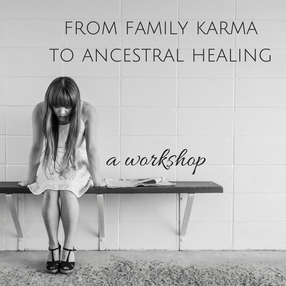 ancestral healing webinar