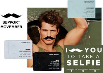 Spotlite Movember selfie