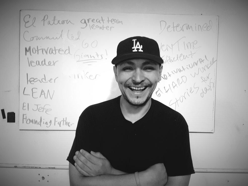 Luis Moran - Warehouse Manager