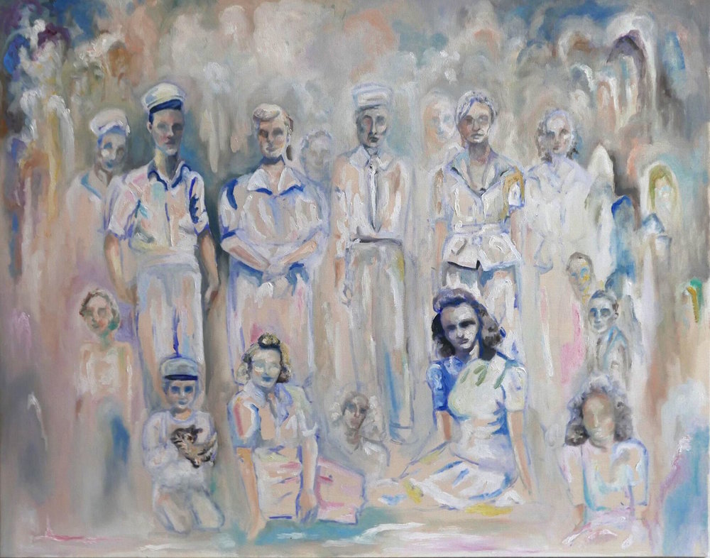 'Family Portrait' Oil on Linen, 24x30 in