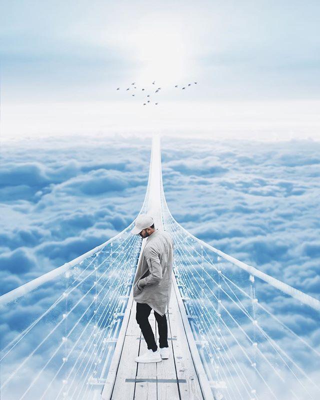 Ghost bridge | Everyone has their own bridge to cross.