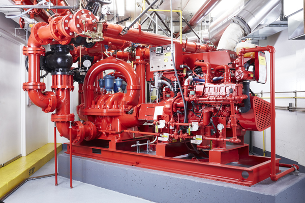 Embarcadero Center Fire Pumps      /       View project >
