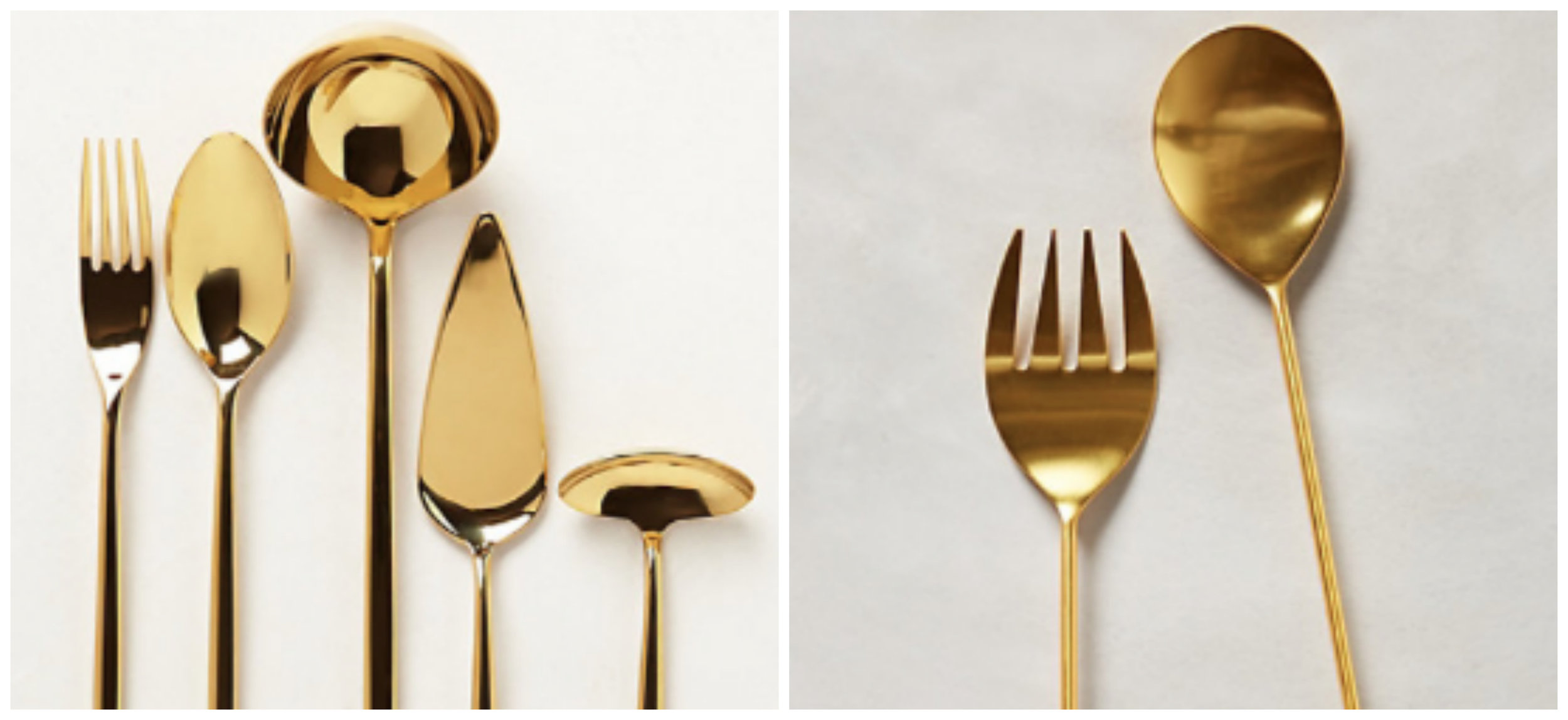 Anthropologie Serving Sets