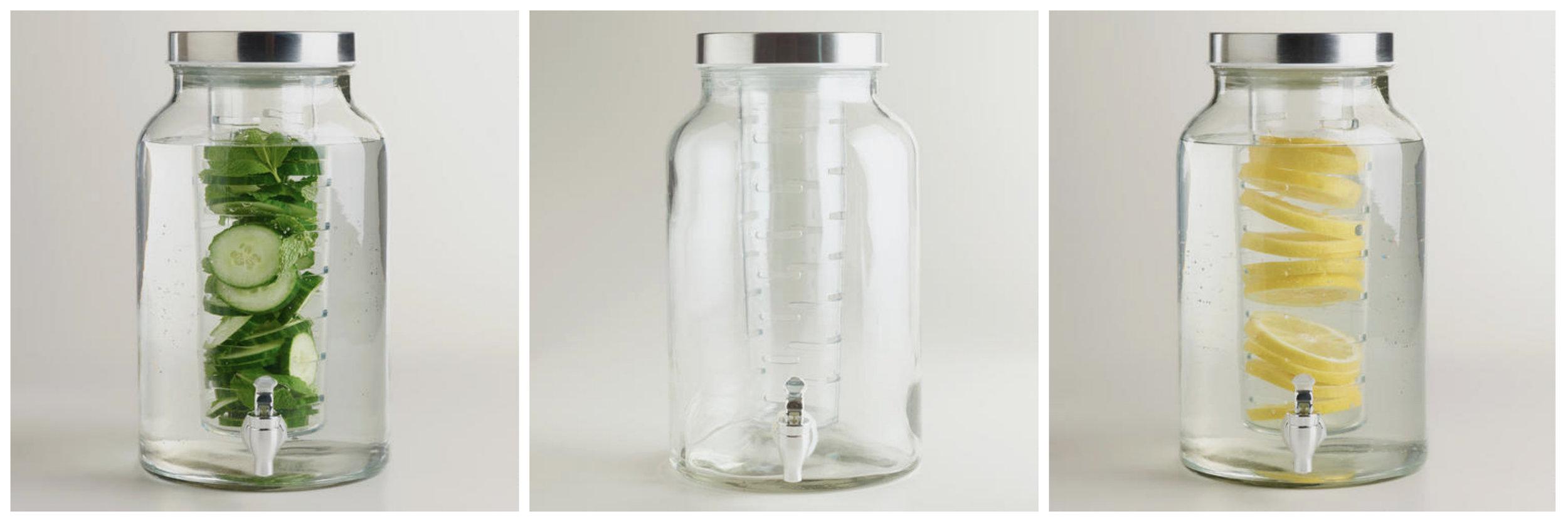 WM Glass Infuser Dispenser