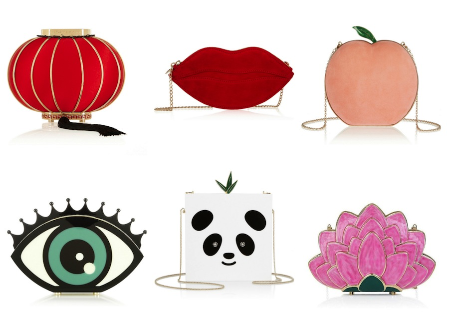 clutches by Charlotte Olympia