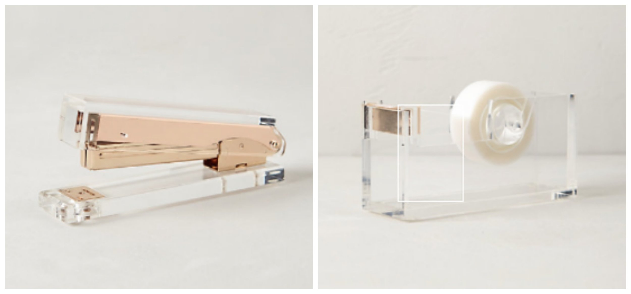 Lucite Desk Collection