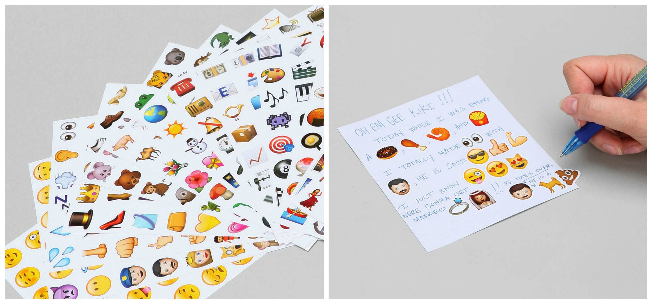 UO Emoji Stickers