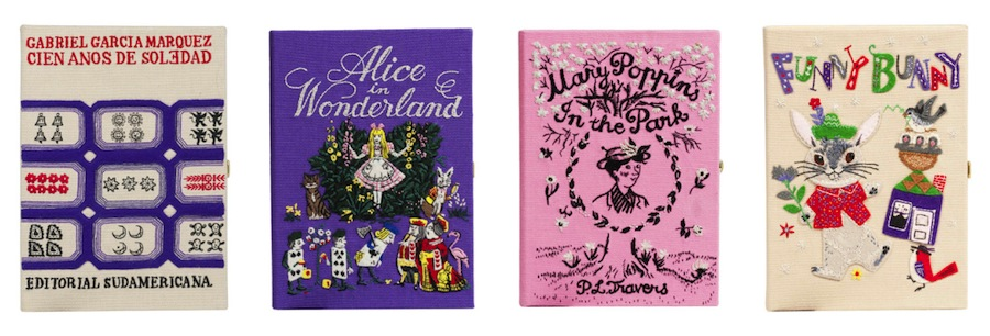 Olympia Le-Tan's magic-themed book clutches