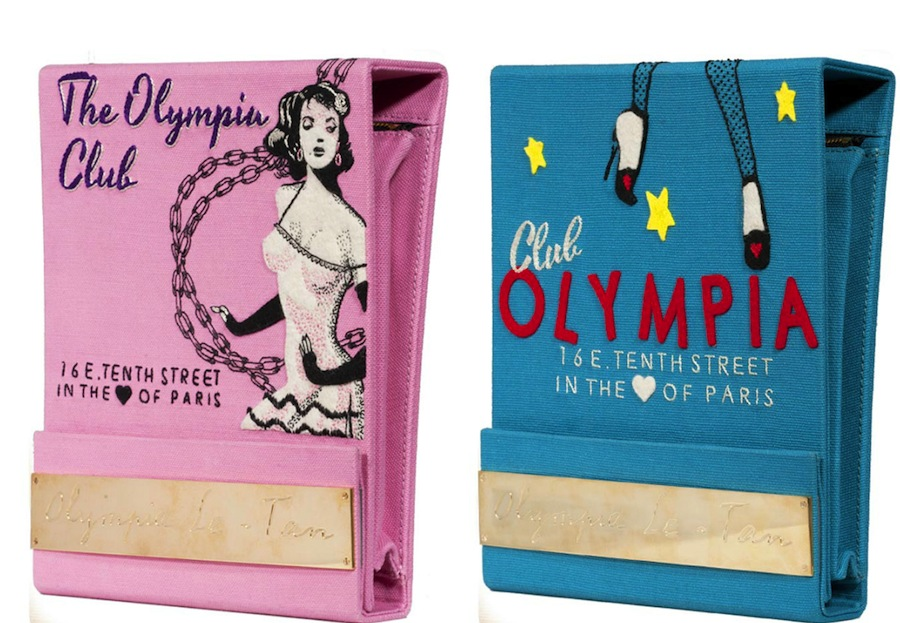 Olympia Le-Tan's matchbox clutches