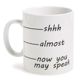 Barbuzzo Shhh Mug