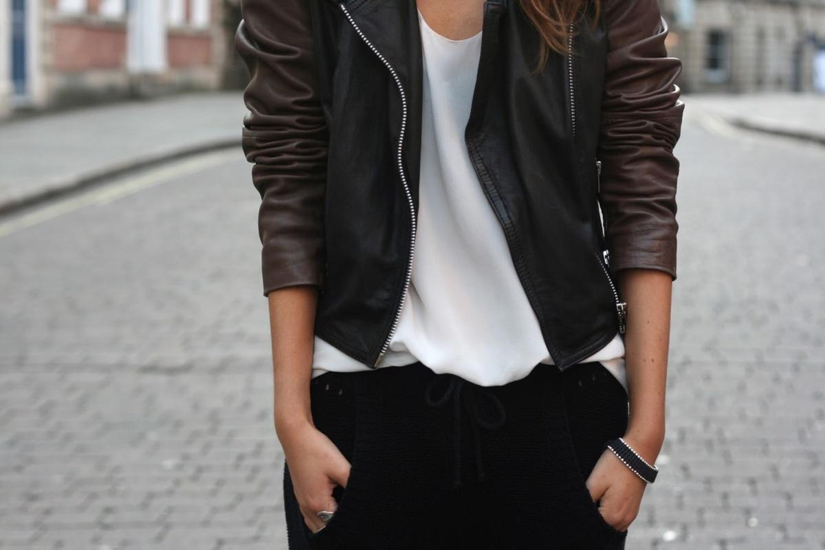 Tasteful Leather Looks