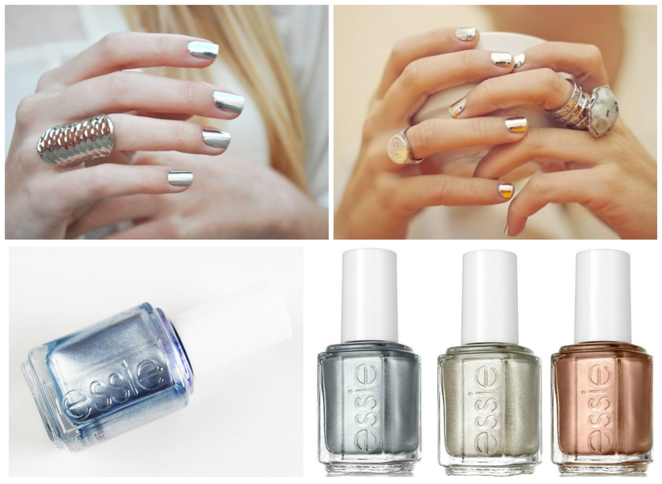 Metallic Spring Looks