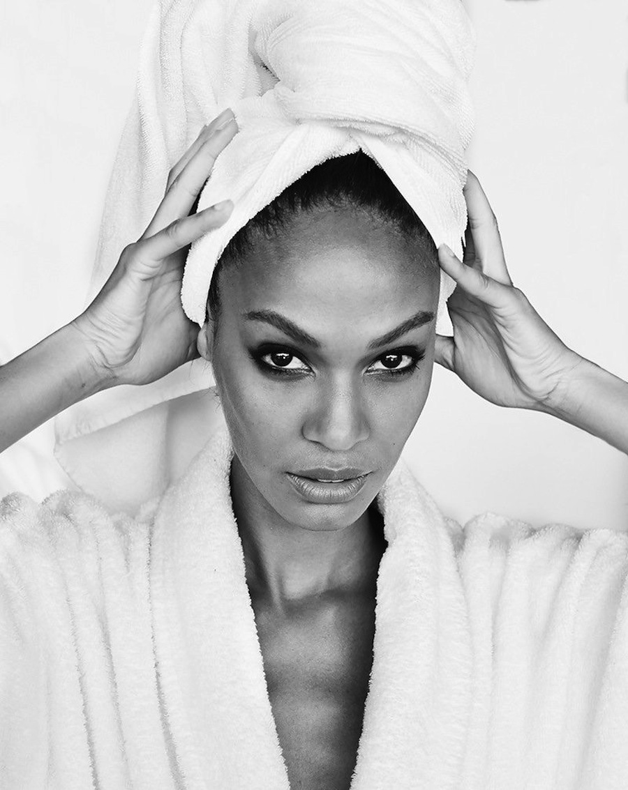 "Joan Smalls for Mario Testino's ""Towel Series"""