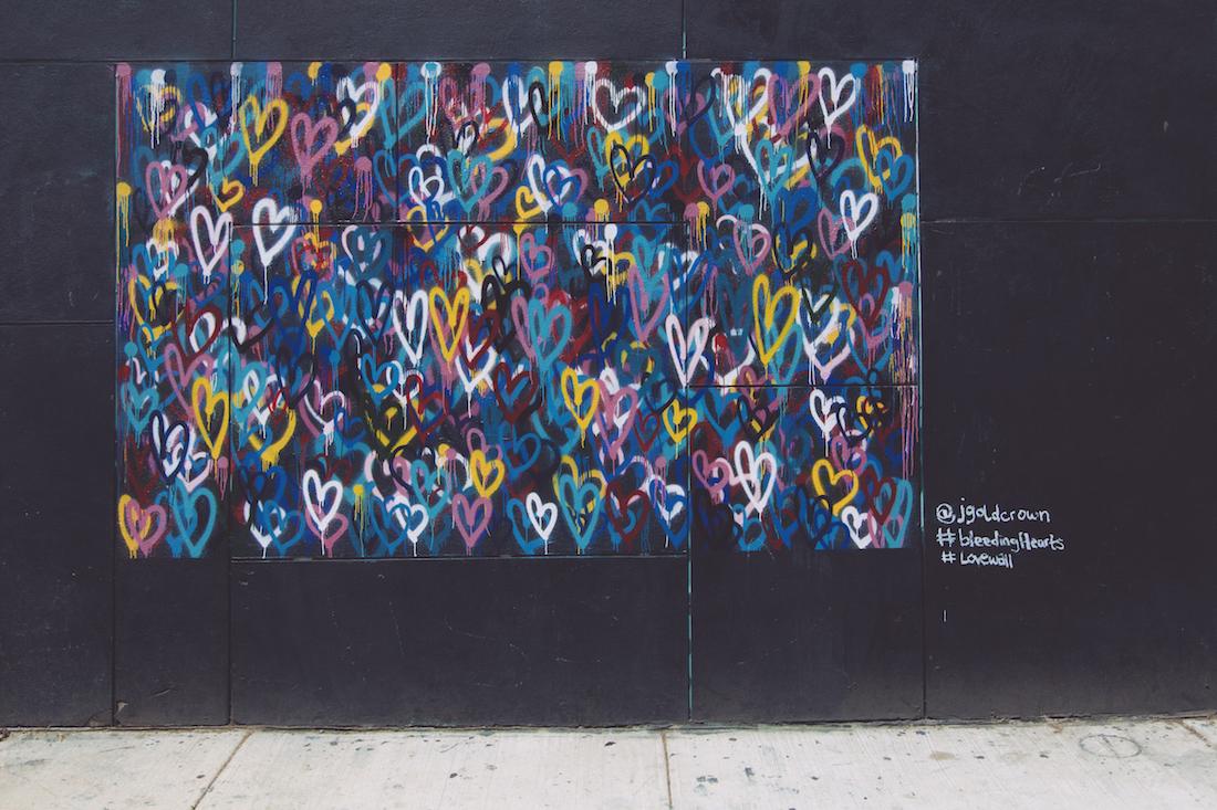 Bleeding Hearts at 192 Mott Street at L'Asso Pizza