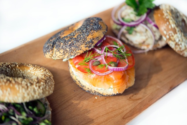 Bagel Sandwiches - Black Seed