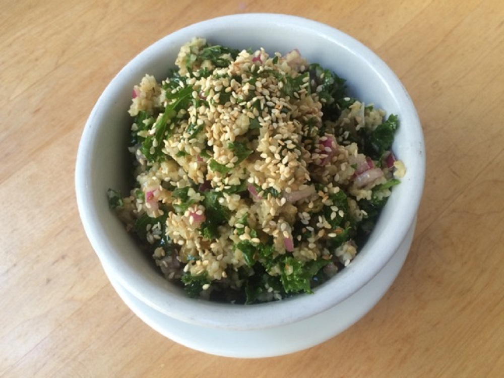 Mile End Deli - Kale Tabbouleh