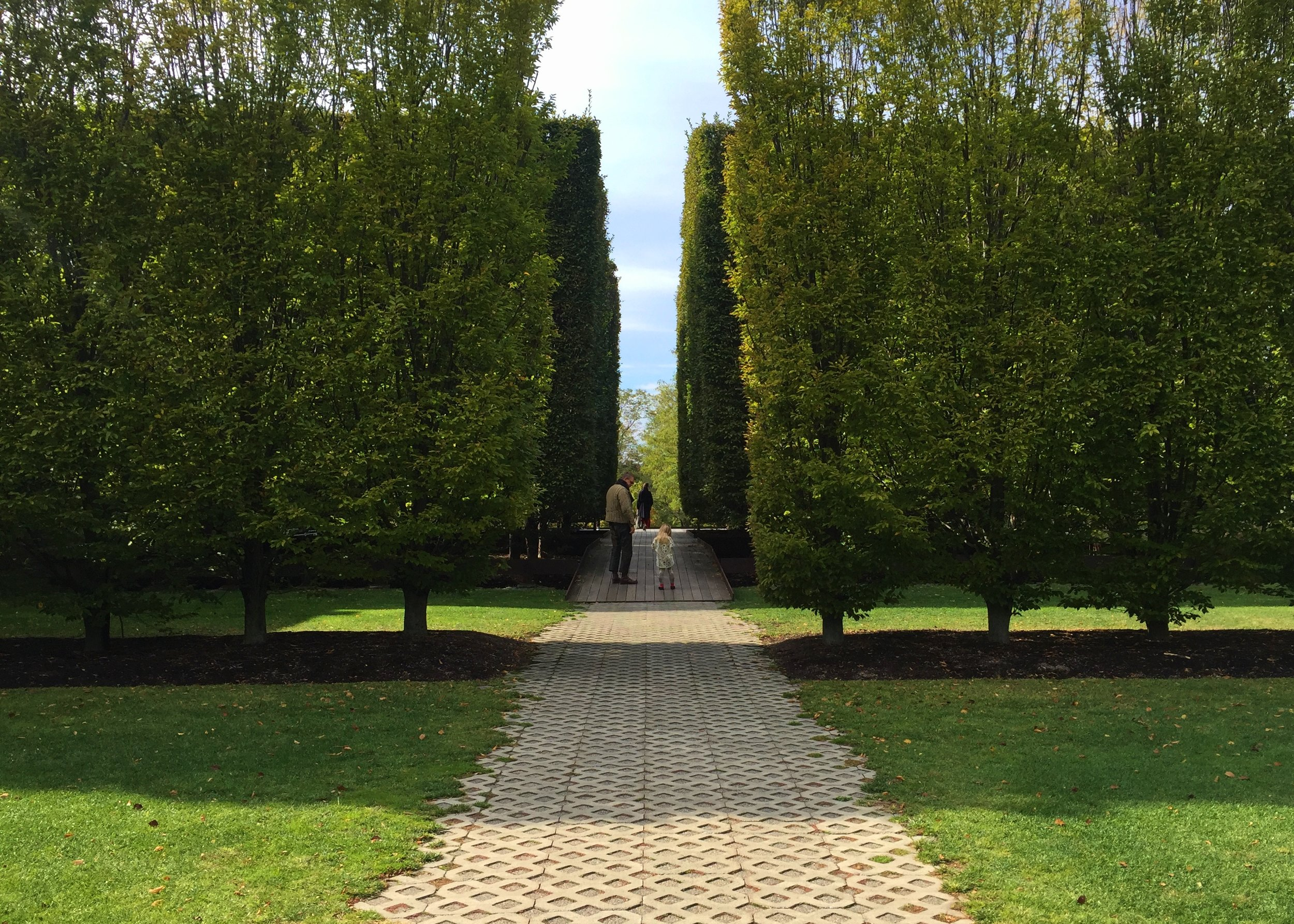 Robert Irwin's garden entrance to Dia:Beacon—a quaint nod to the manicured lawns in Paris, don't you think?