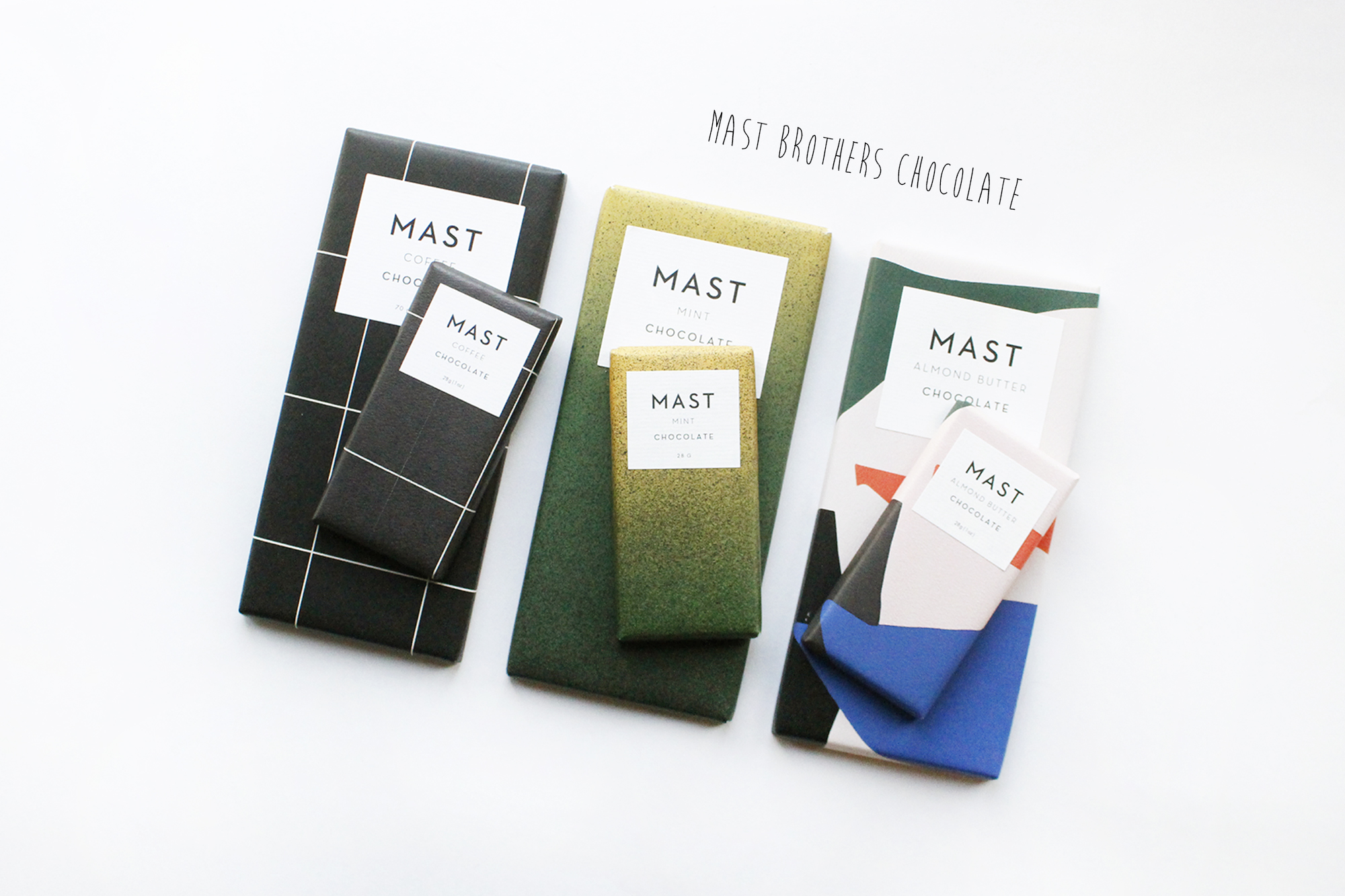Because Mast Brothers has all the flavors you'll ever need.