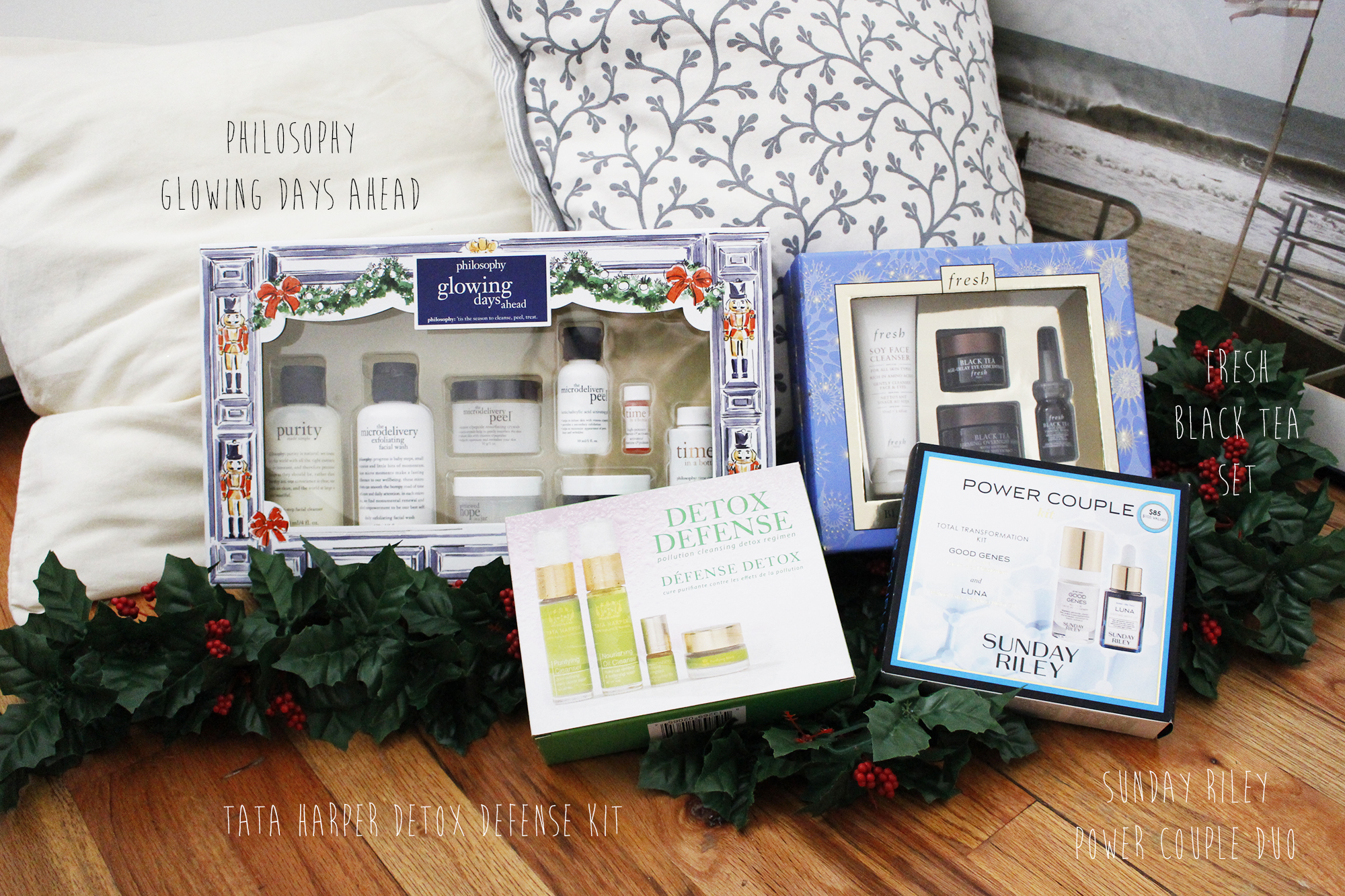 You can't go wrong with skincare gift sets!