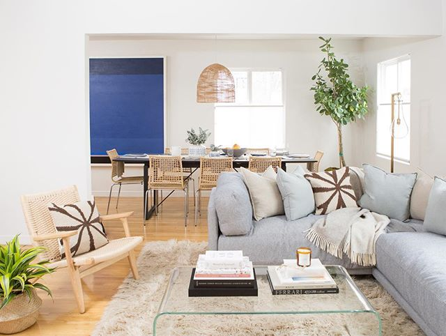 When I moved into this sweet California cottage I wanted to create a space with an inviting couch for friends to crash on, a great dining area for dinner parties, and a really attractive outdoor area with tons of seating. @allModern made it so easy to do that! They have so many great pieces from cozy seating to large dining tables that helped bring my vision to life. Shop my space by heading to the link in bio #mymodernmakeover
