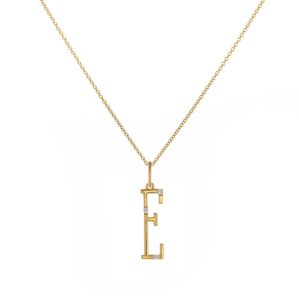 "18K Yellow Gold - ""E"""