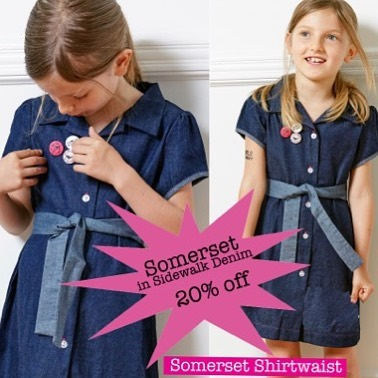 Sure to make our best-seller an even better seller!  Somerset in Sidewalk Denim in sale thru Sunday. Pre-order yours, link in profile!  #  #pre-order #sale #girlsupfront #Denim #girlsfashion #predatornotprey #madeinusa #shirtwaistdress