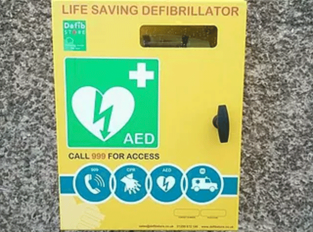 Emergency - There is a defibrillator located on the outside wall of the Memorial Institute in Penyffordd