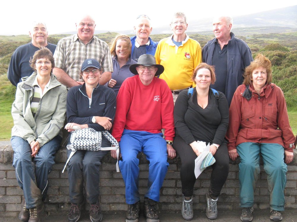 North Wales Charity Ramblers - Walking group, we meet at Penyffordd legion every Sunday at 9.30am