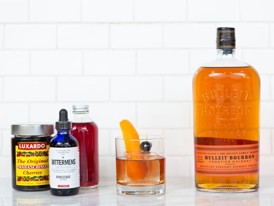 Black Cherry Old Fashioned -