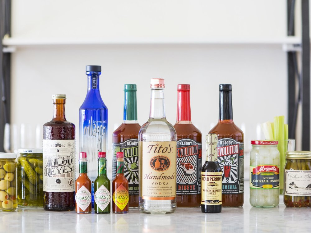 BLOODY MARY BAR - The perfect kick off to your day!