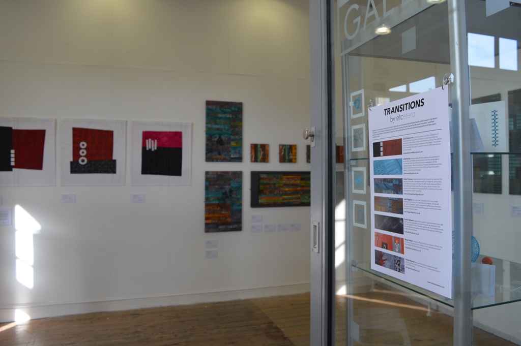 Transitions by Etcetera at the Platform Gallery, Clitheroe