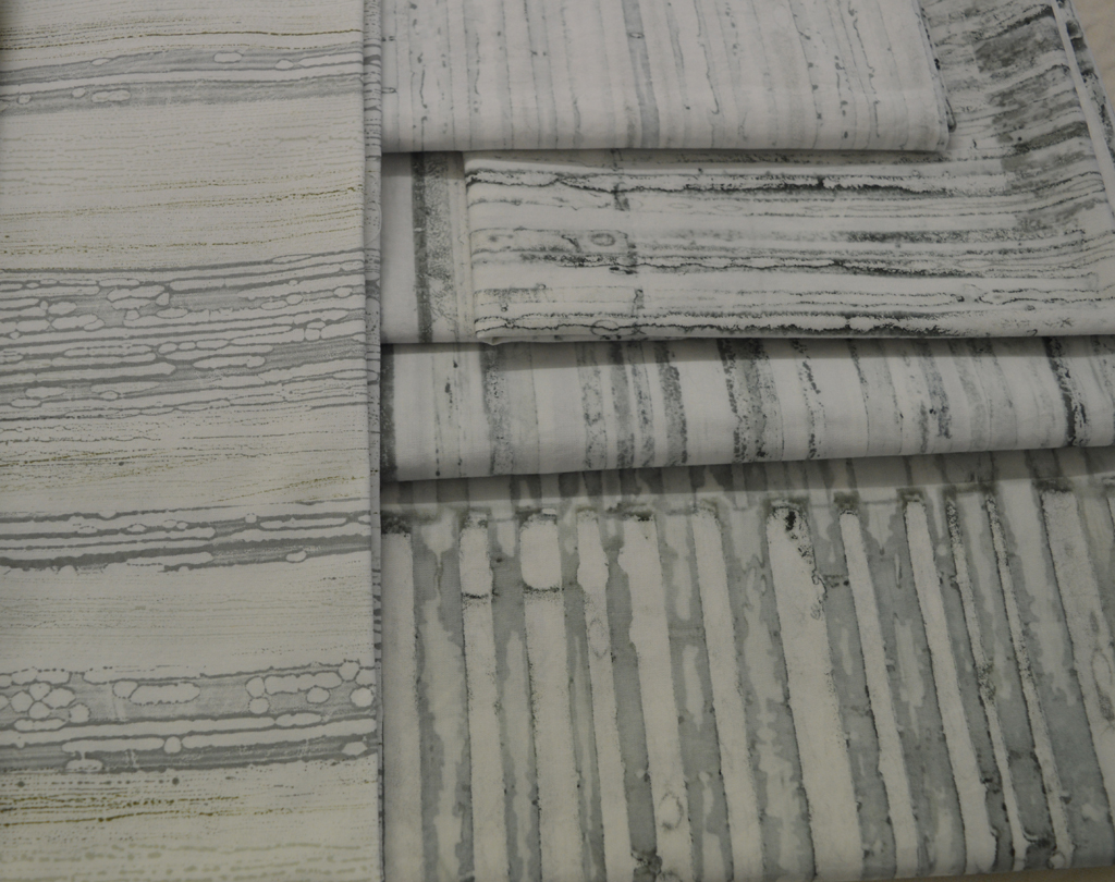 Beautiful soft greys achieved through breakdown printing and glassine monoprinting