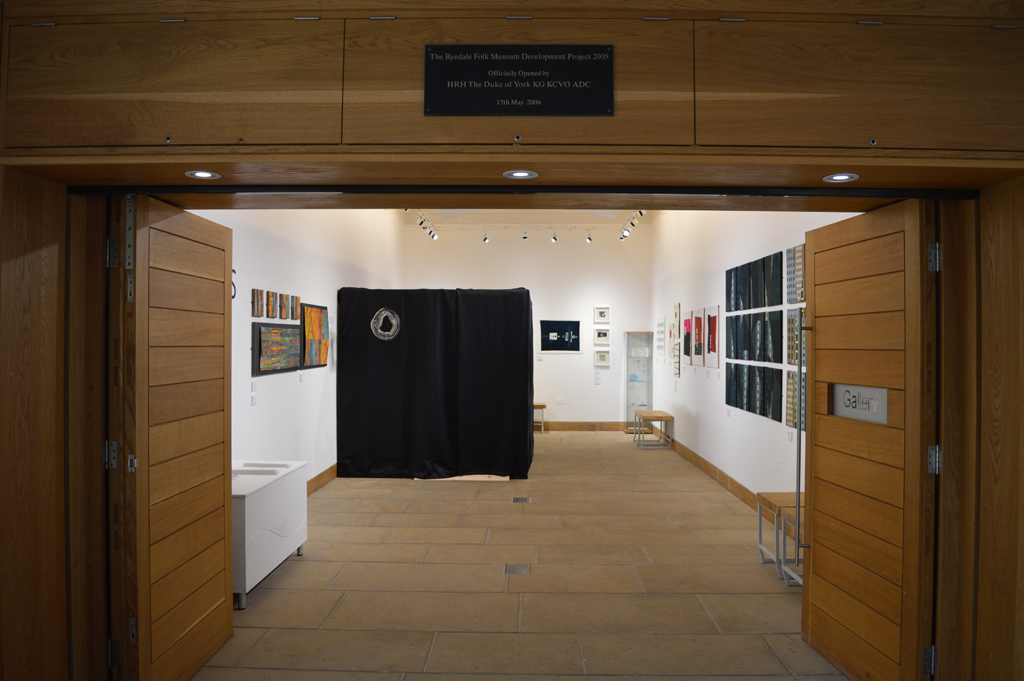 View from the entrance of the gallery