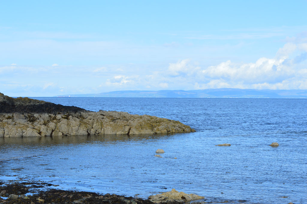 View from Dunure beach