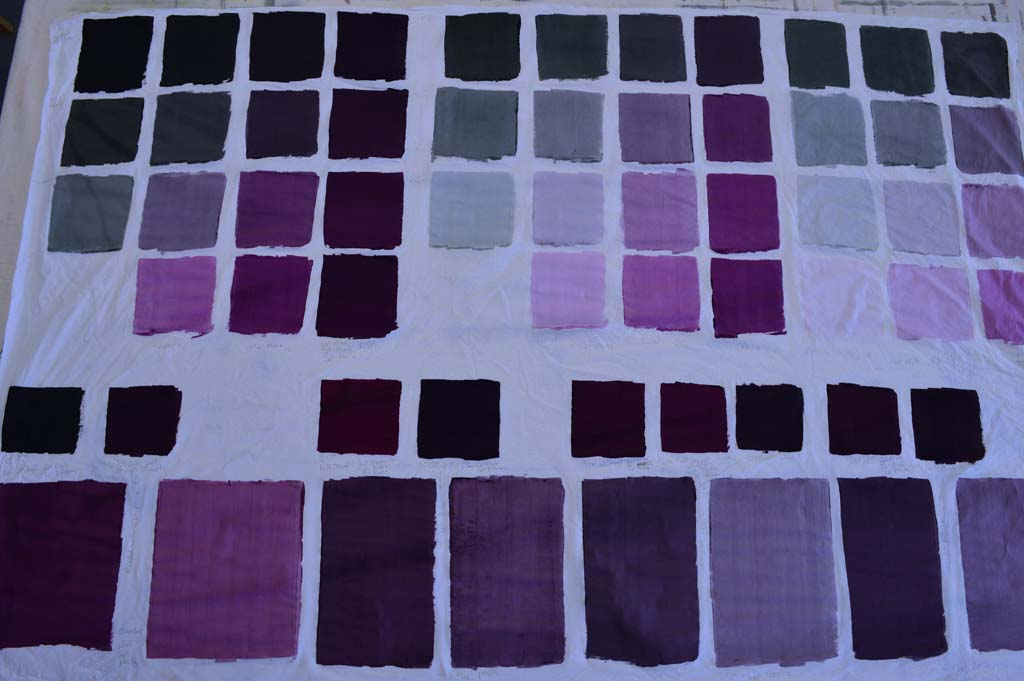 Using thickened dyes to create new colour families
