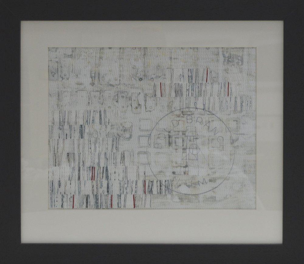 Bold V (53cm x 46cm) £225