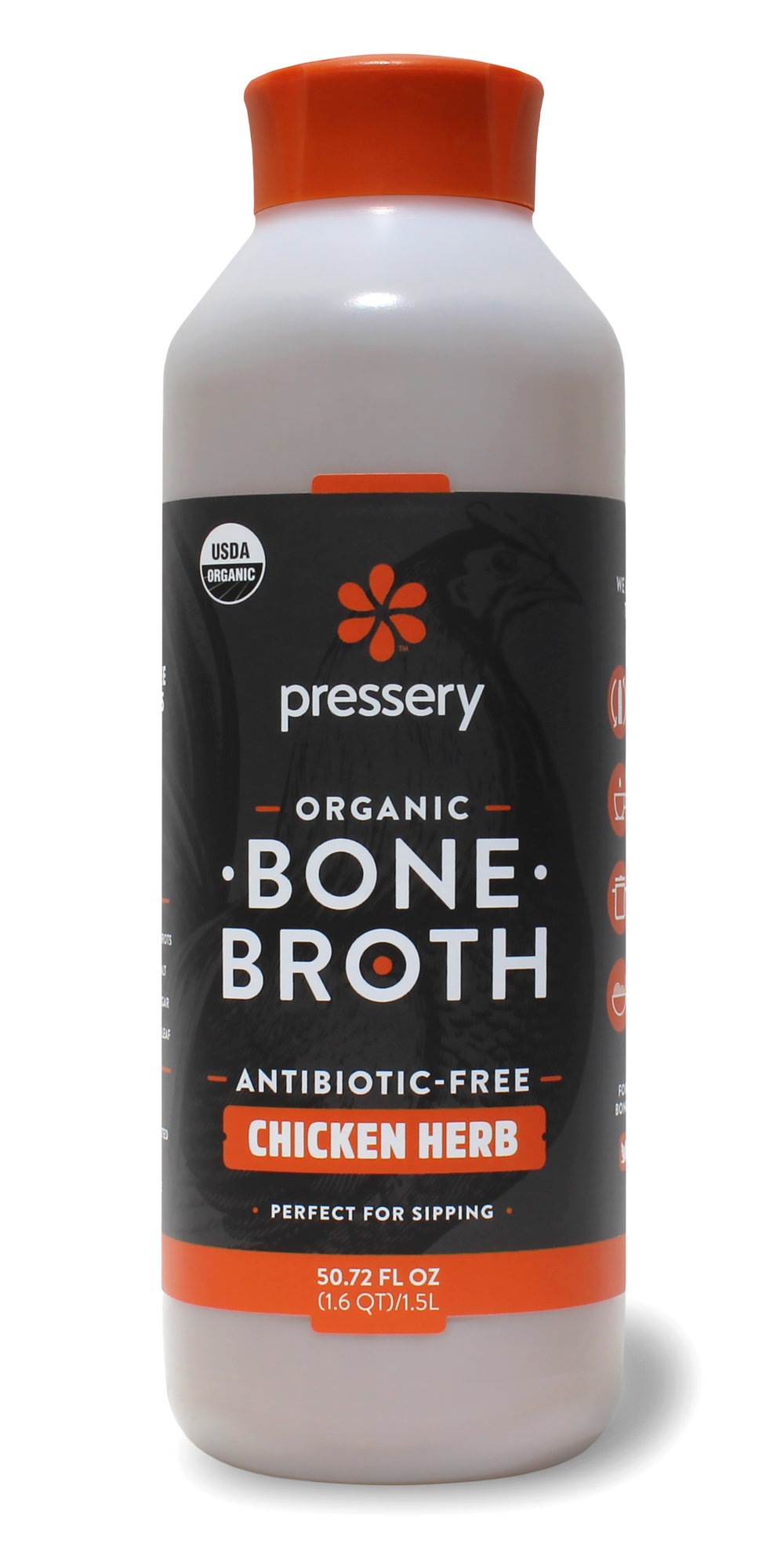 CHICKEN HERB - CERTIFIED USDA ORGANIC, MADE WITH ANTIBIOTIC-FREE CHICKEN BONES