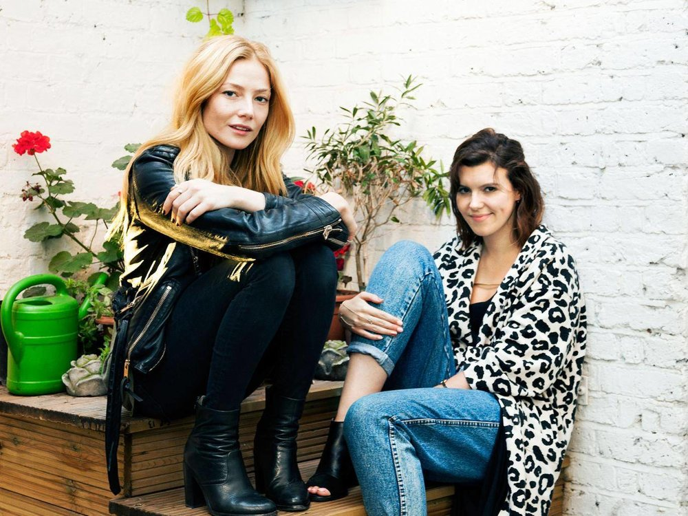 The actress and the presenter met when their parents collaborated on a book on alternative London