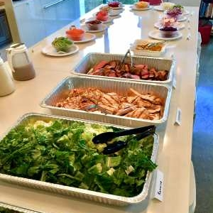 Lunch Catering Build Your Own Salad Bar