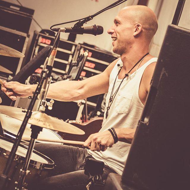 Tonight @thebandeastland's very own @dannyyoungdrums will be drumming with @dantyminski on @colbertlateshow ! 📷: @mfsagi