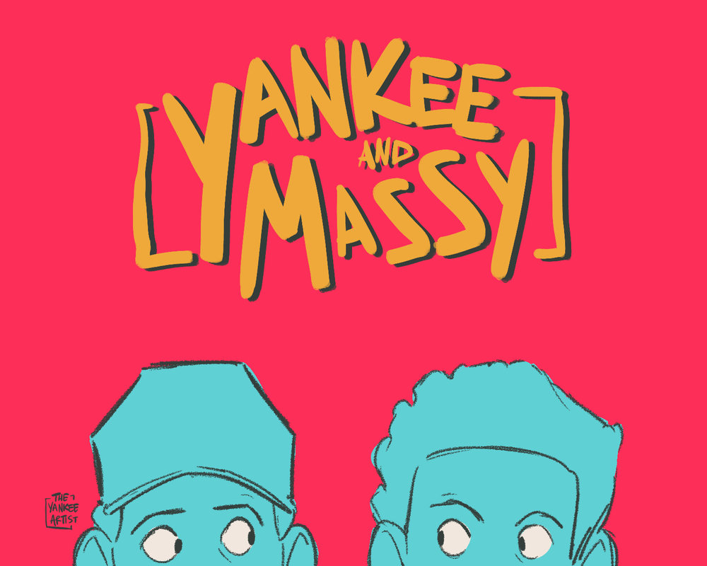 Yankee and Massy - Thursday 3pm    Kaina Caines & Micah Daniels   Best friends of 11+ years, Micah and Kiana, talk your ears off for an hour about miscellaneous topics submitted through Instagram.  Variety (DJ Set and Talk)  @theyankeeartist on Instagram, Twitter, and Facebook @mr.massacres on Instagram