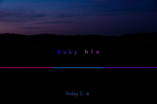 Baby Blu - Friday 4pm    Hunter Vasquez   Music to make you feel. I may talk about the songs here and there.  DJ Set  Genre: Trance and Ambient  @bruh.cuh on Instagram, https://huntrblu.com